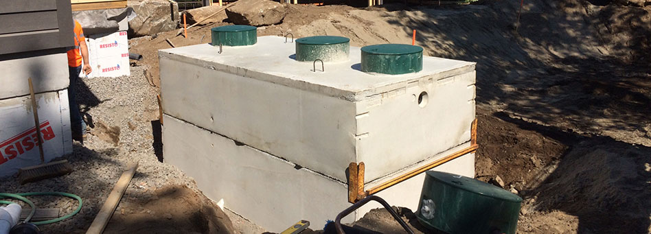 Septic Tank with Lid
